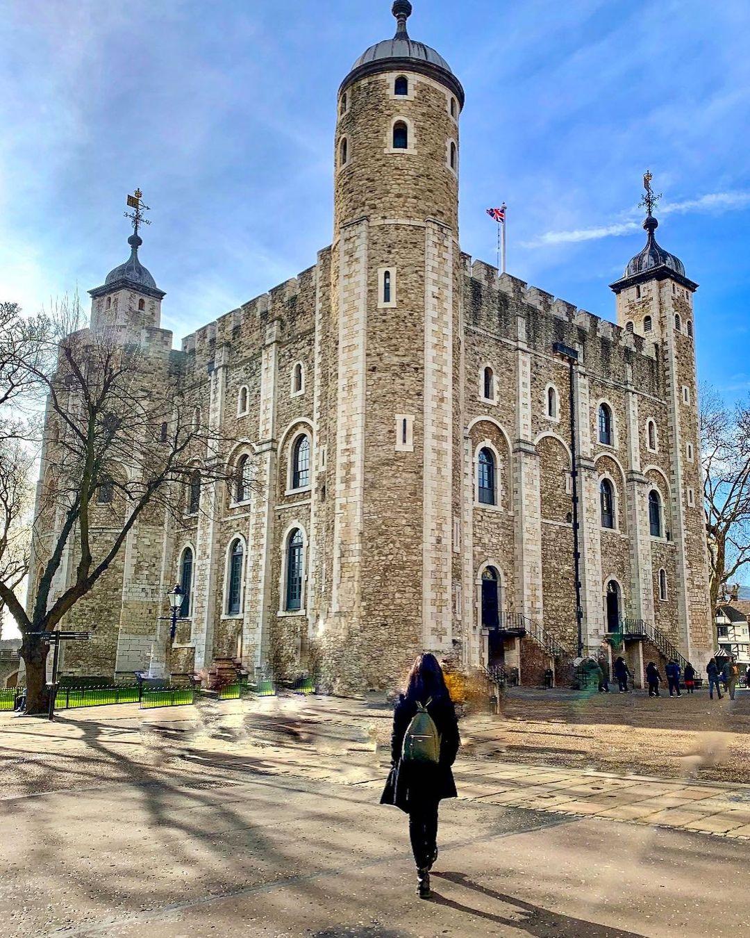 tujuan wisata terfavorit di london tower