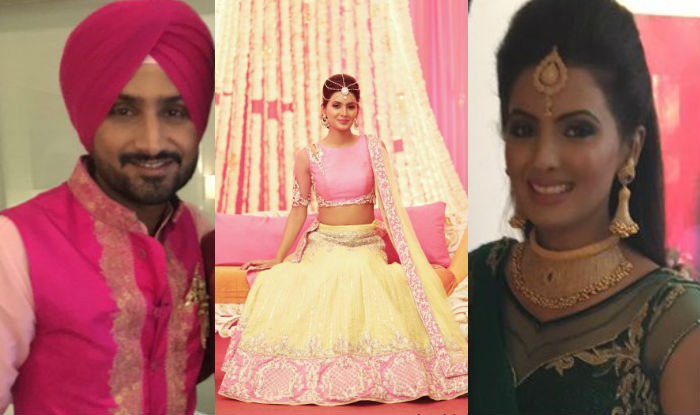 Jyothika Mehndi Ceremony : Harbhajan singh and geeta basras big fat punjabi wedding indian