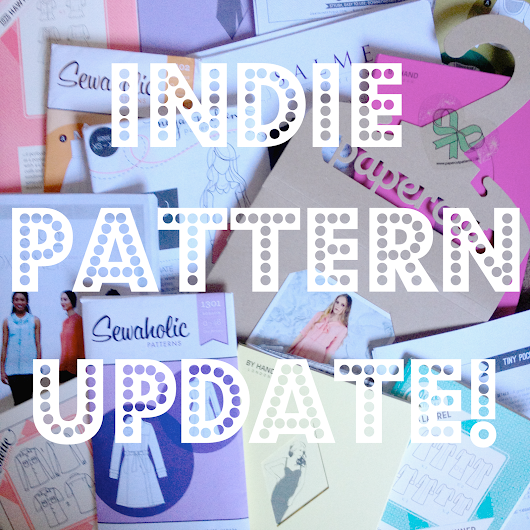 August Indie Pattern Update!
