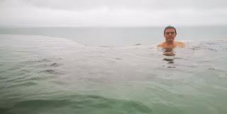 Baños termales Geosea, en Húsavík.