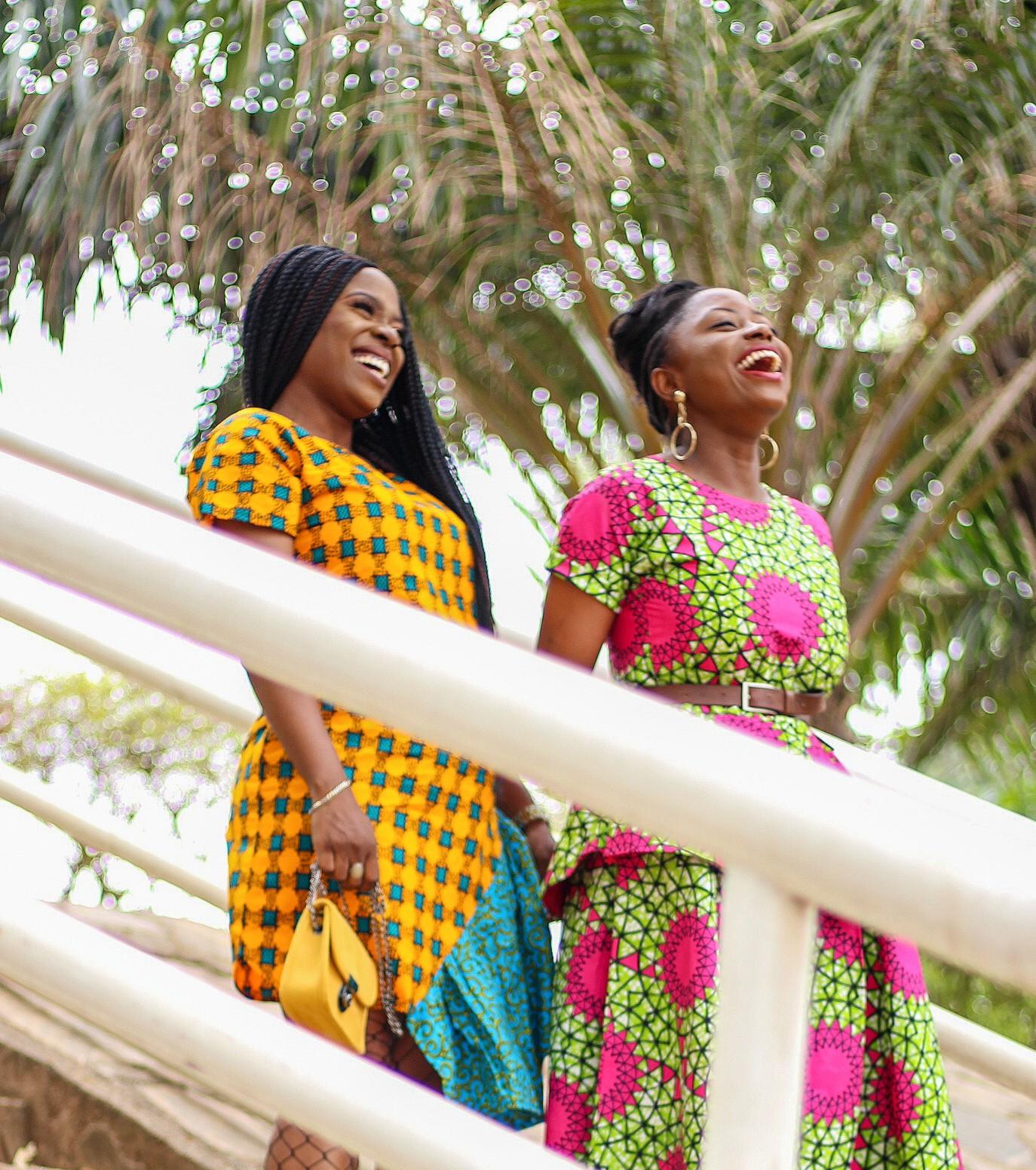 Abuja blogger style ankara dresses