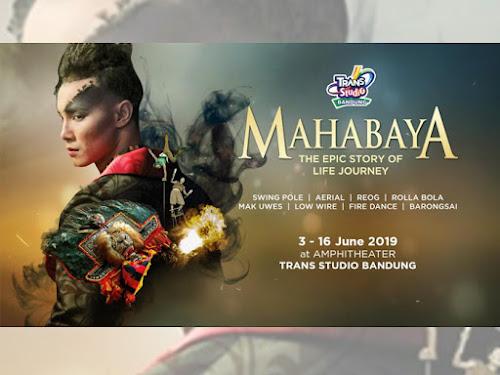 Pertunjukan Mahabaya TSB Bandung
