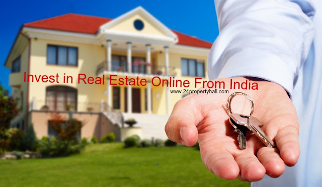 How do we invest in real estate online from India?