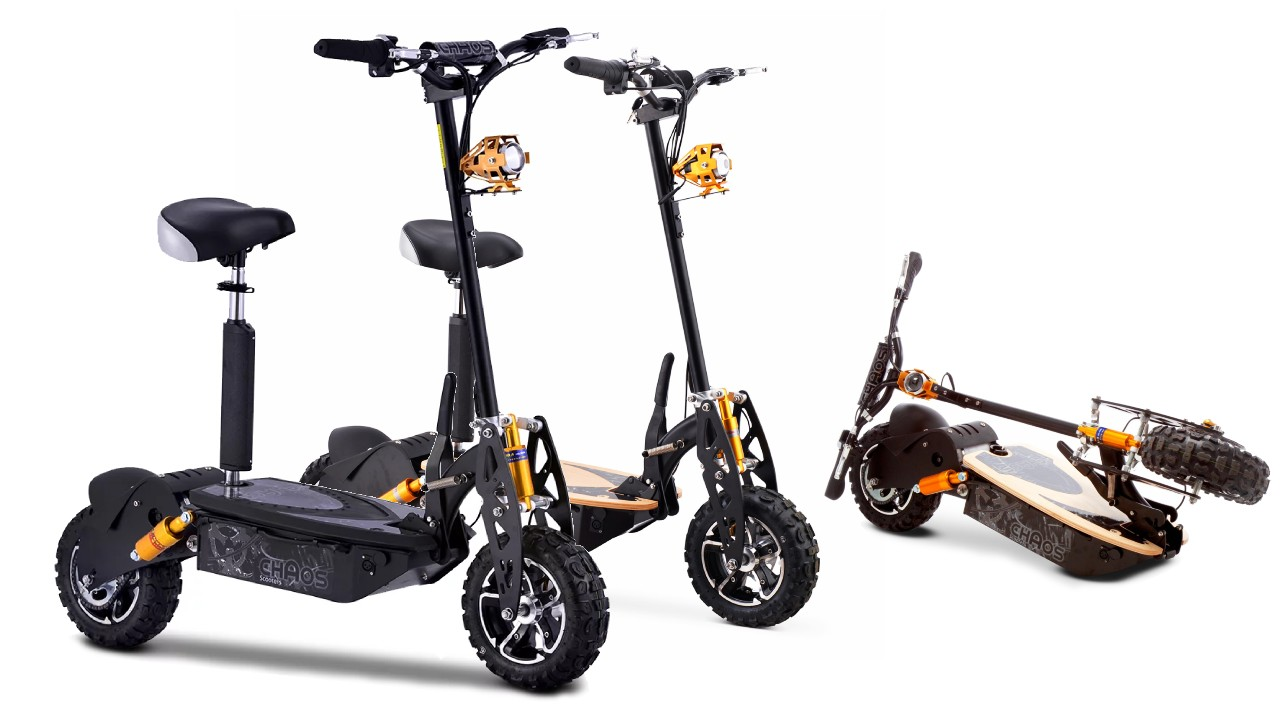 Save on Chaos 48v Electric Scooters