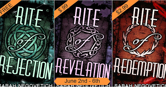 Sarah Negovetich: Rite of Rejection is free!