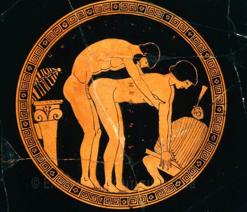 Ancient greek bisexual images — 7