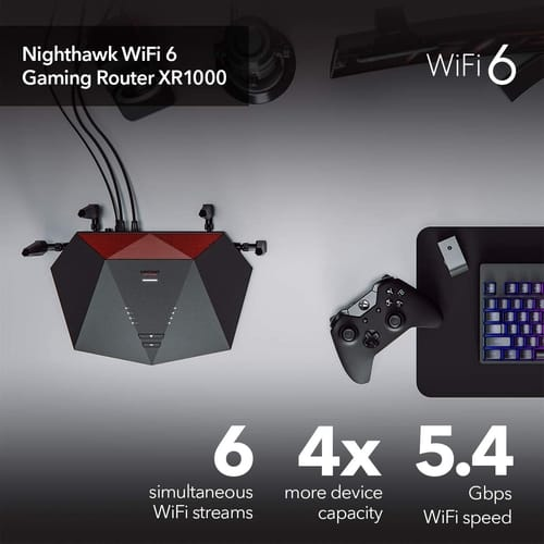 Review NETGEAR XR1000 Nighthawk Pro Gaming WiFi 6 Router