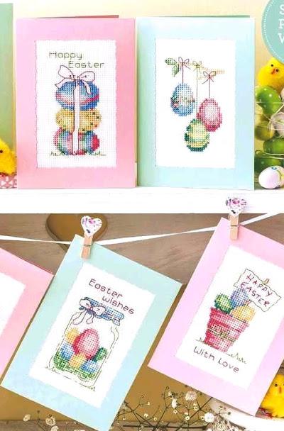 Coniglietti, fiorellini, dolcetti di primavera e... uova tutte idee da ricamare