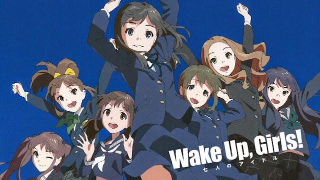 Plakat promujący Wake Up, Girls! - w planach wydanie gry na smartfony