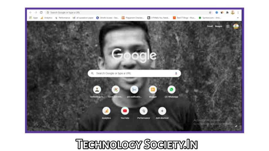 Add Your Own Background Image to Google Chrome Start Page