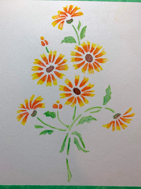 Large Die Cuts With A View Wildflowers Peel /& Stick Wall Art With Foil Silver