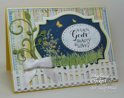 "ODBD ""Sentiments Collection"", ""Bird and Butterfly Labels"" Designer Angie Crockett"