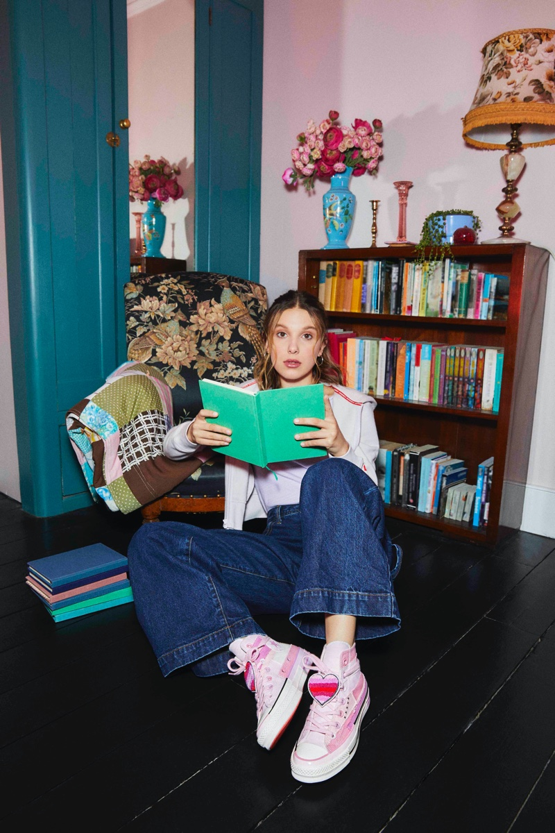 Millie Bobby Brown x Converse Season 2 Collaboration