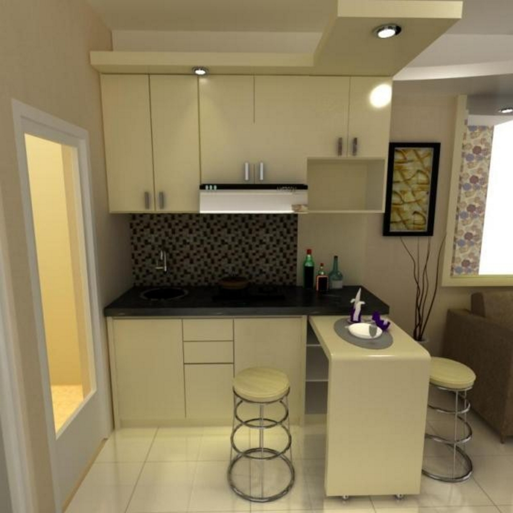 kitchen set dengan meja bar 1