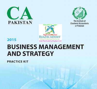CFAP-03 Business Management & Strategy 2015 Practice Kit