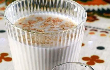 толокняный напиток с молоком