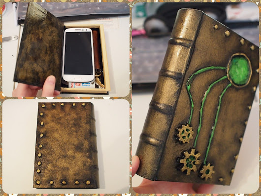 Steampunk Book Box