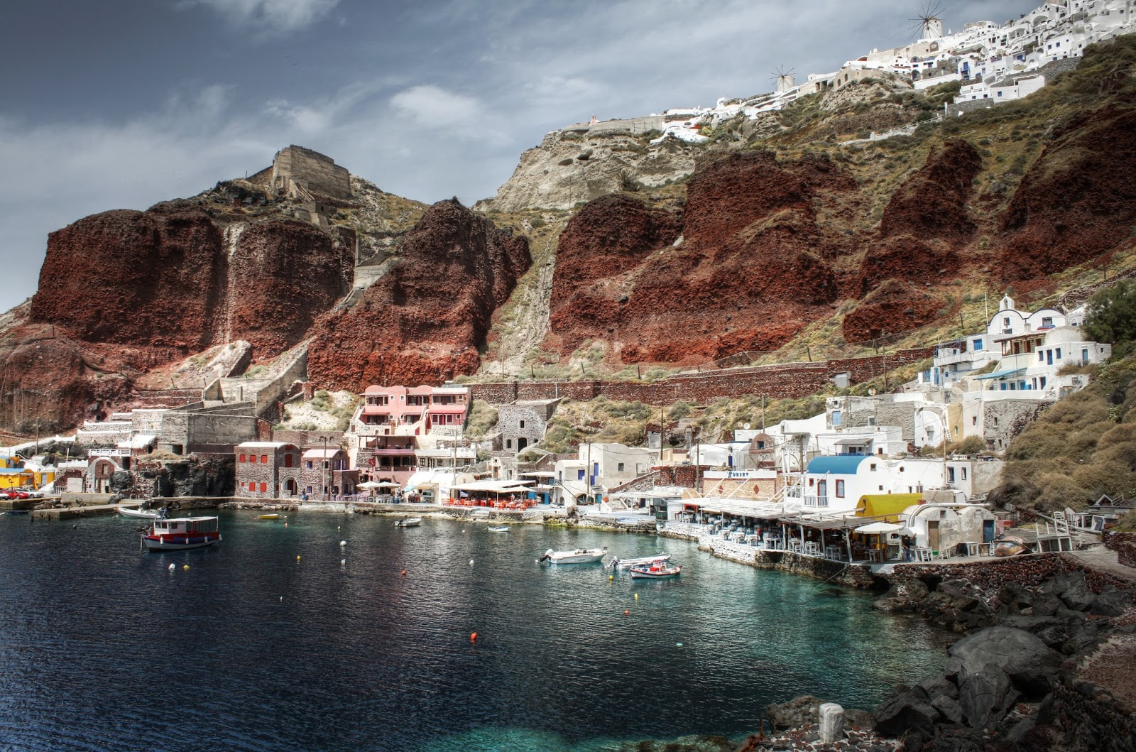 The 10 Best Things To Do In Santorini Island - Go cliff jumping at Amoudi Bay