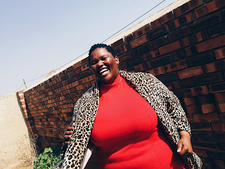 south african plus size blogger, plus size leopard print coat