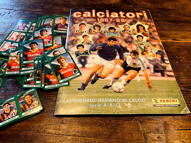 calciatori panini 87/88