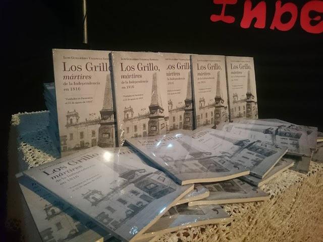 """En Facatativá se lanzó el libro """"Los Grillo, mártires de la Independencia en 1816"""""""
