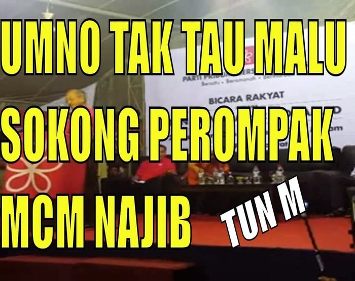 UMNO Penyangak 1MDB