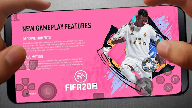 BAIXAR FIFA 20 MOBILE OFFLINE 800MB PARA ANDROID