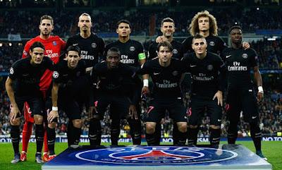 Daftar Skuad Pemain PSG 2016-2017