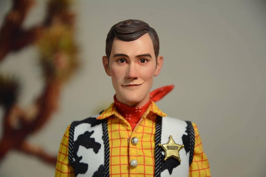 Woody de Toy Story em versão realista