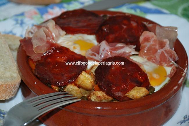 Huevos a la flamenca tradicionales