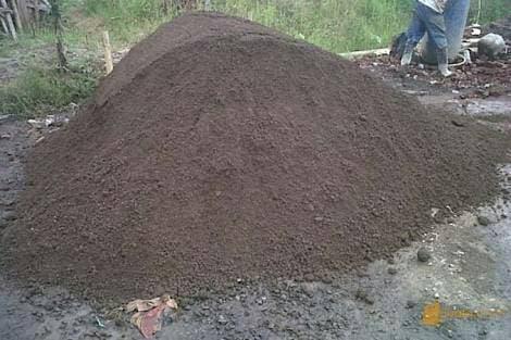Pasir untuk pembuatan batako berkualitas