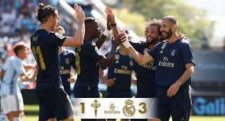 Celta Vigo vs Real Madrid 1-3 Video Gol & Highlights