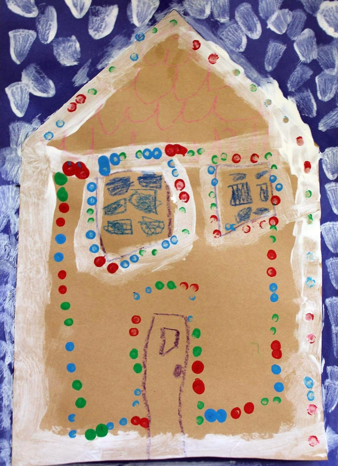 Kinder Garden: Art Room 104: Christmas Wrap Up: Kindergarten Projects