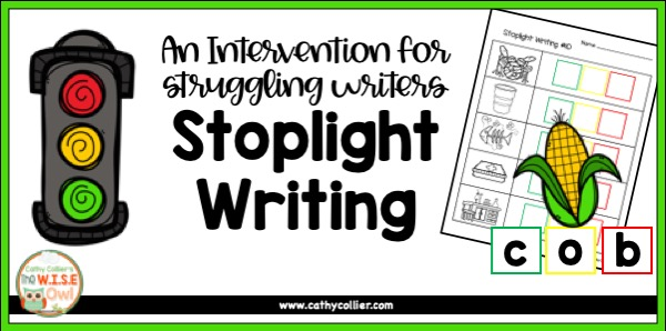 Even struggling students can become independent writers the an easy routine of Stoplight Writing.