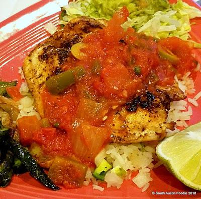 DK Maria's Legendary Tex Mex Anselmo's Grilled Fish