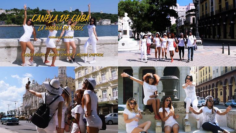 Canela de Cuba - ¨La Habana de todos¨ - Videoclip - Dirección: Giselda Fuentes - Dayron Semanat - Melodie Spartacus. Portal Del Vídeo Clip Cubano