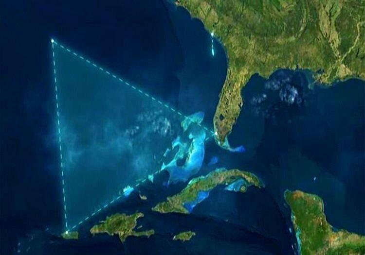 Ejderha Üçgeni'de oldukça tehlikeli bir bölgedir, pek çok gemi bu bölgede batmıştır.