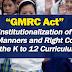 """""""GMRC Act"""" isinusulong sa Senado"""