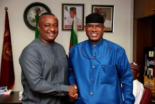 Festus Keyamo Visits Deputy Senate President, Omo Agege [photo]