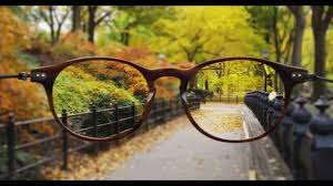 Nearsighted Person Vision