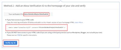 kode verifikasi alexa