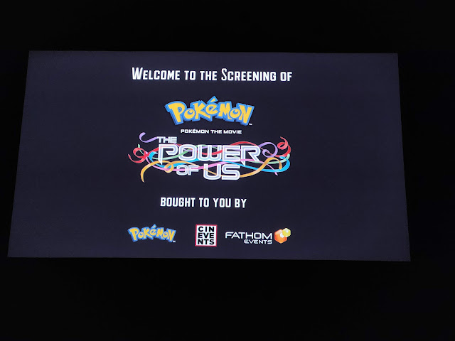 Screen at Pokemon The Power of Us screening