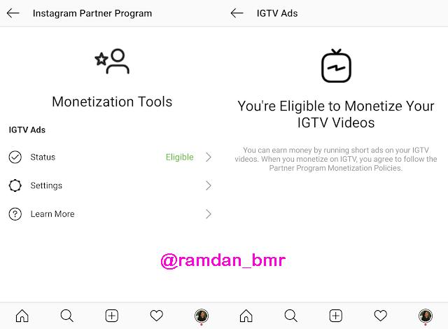 كيفية الربح من خاصية IGTV التابعة لإنستغرام