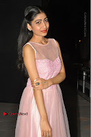 Actress Nidhisha Reddy Pos in Beautiful Pink Dress at Virus Telugu Movie Audio Launch .COM 0030.JPG