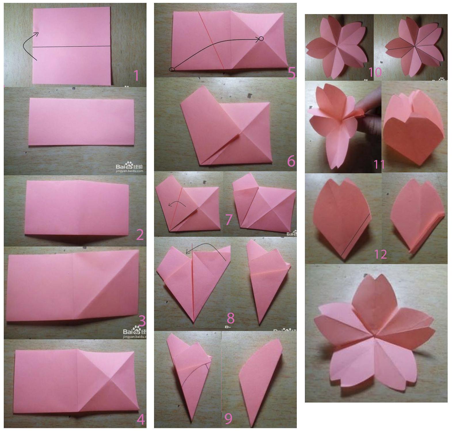 Origami paso a paso de flores imagui como hacer flores de - Papiroflexia paso a paso ...