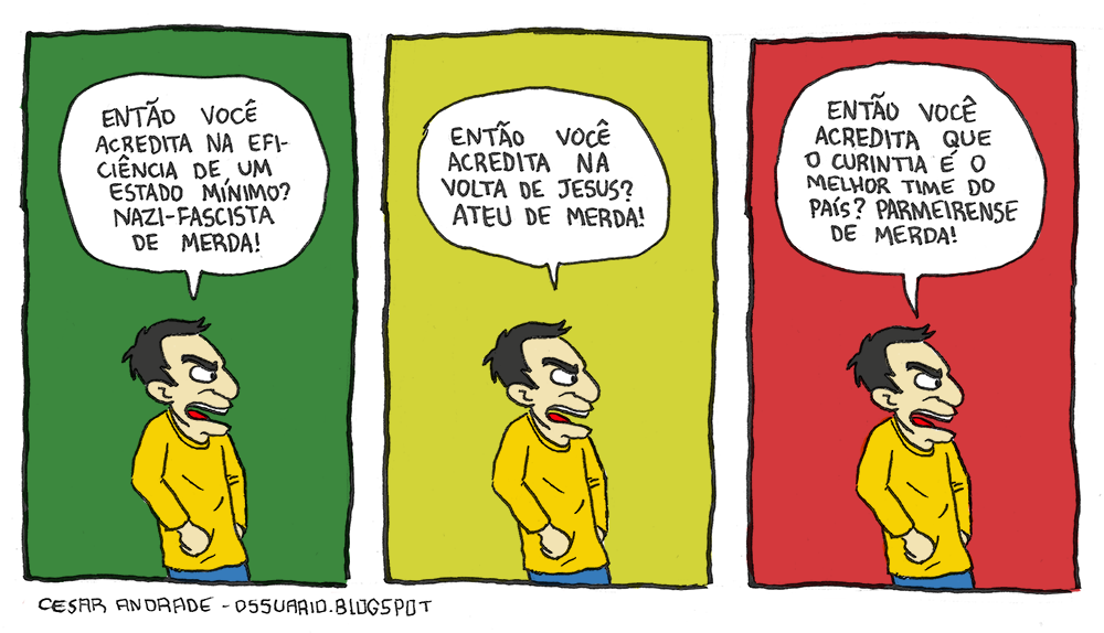 Cesar Andrade, cartunista - Estado Mínimo