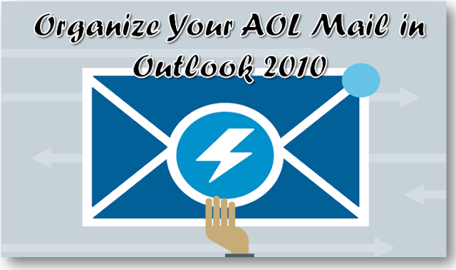 AOL Mail Setting For Outlook 2010