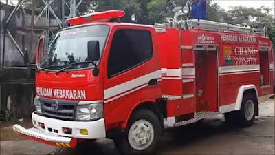 Nomor telp pemadam kebakaran wikayah di DKI Jakarta
