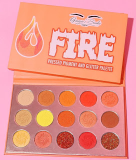 Georgies Cosmetics Fire