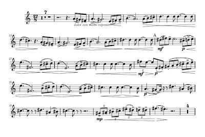 6b28fbeae3979 As durações se repetem com pequenas variações melódicas. Solo de trompa do  segundo movimento da 5.ª Sinfonia de Tchaikovsky.